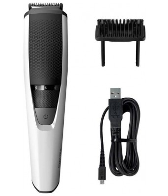 Philips Beard Trimmer BT320115 Cordless Trimmer for Men(Silver  Black)