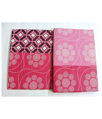 Paras Traders Presents Excellent Fine Quality 244 TC / 100% Cotton Bedsheet Having Excellent Fabric/with 2 Pillow Cover
