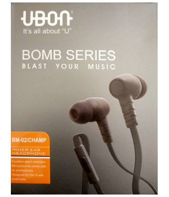 Ubon bomb series BM-02 Headphones  (In the Ear)
