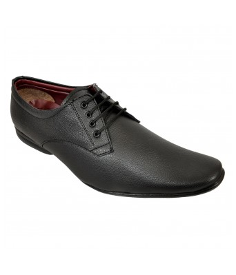 Altek Designer Black Laced Formal Shoe