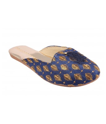 AMAZING TRADERS Canvas Slipper For Womens,Girls (Blue Color)