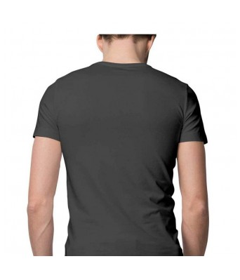 Hyper Take Mens Namo Again 2019 Round Neck Charcoal Grey Color