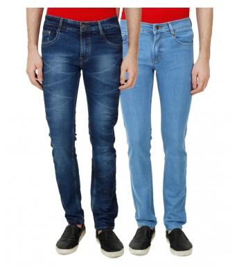 Rock Hudson MenS Denim Strachable Jeans Pack Of 2