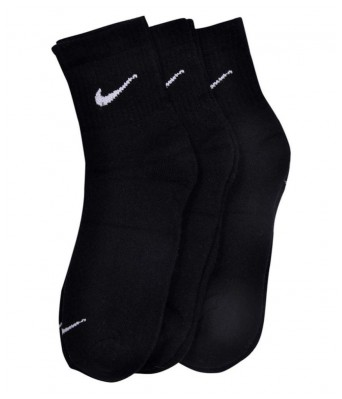 Hezal Black  Ankle Socks For Men (3 Pair)
