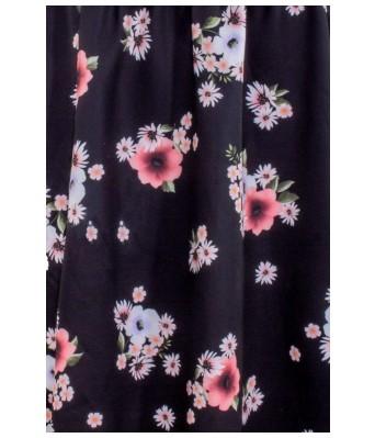 The Plum Tree  Flower Crush Soft Corset Dress