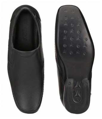 Boggy Confort Black Color Formal Shoes for Mens & Boys