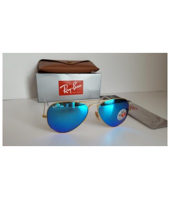 crazy aviator blue sunglasses for men