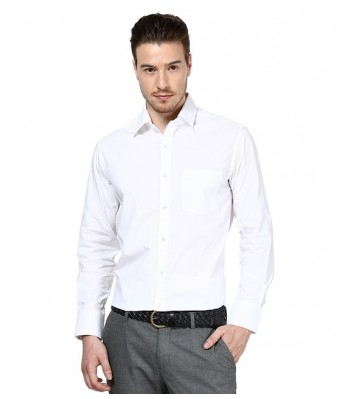 PIXO WHITE FORMAL SHIRT