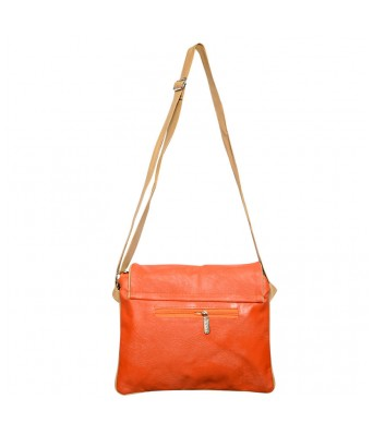 BUEVA Non Leather Stylish Sling Bag Orange Color