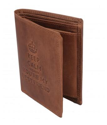 BullKraft Mens Casual Maroon Color Formal Genuine Leather Wallet