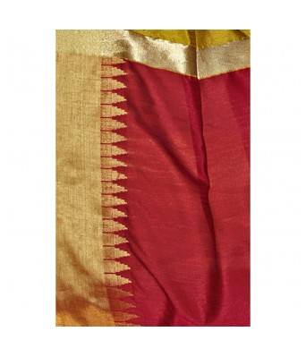 Shakunt Weaves Yellow Color Art Silk Party Wear Embroidered Saree