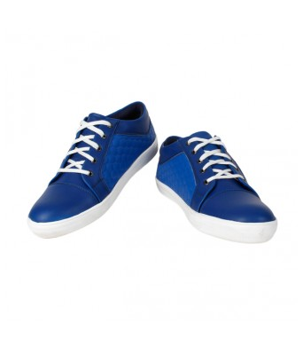 Yellow Tree Mens Blue Casual Lace Up round Shoe