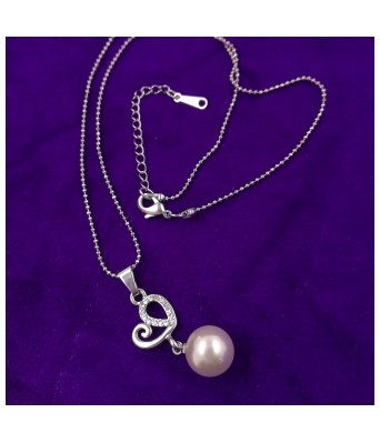 Saizen latest Design silver Heart Pendant & Necklace for Girls