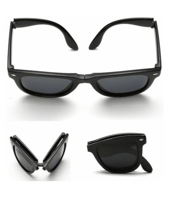 sunglasses in new folding system full black wayfarer goggles for unisex