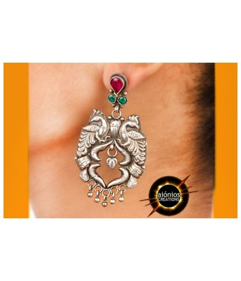 Silver Earrings - Kaveri (STERLING SILVER)