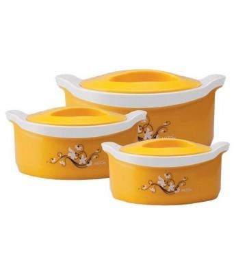 Milton Marvel Jr. Gift Set Pack of 3 Thermoware Casserole Set  (450 ml, 850 ml, 1500 ml)