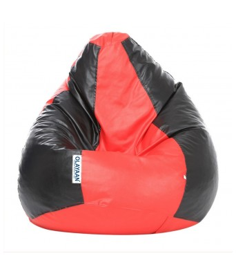 Olayaan Classic Bean Bag Cover Only - Black & Red