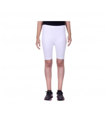 Ansh Fashion Wear Black & White Color Cycling Shorts Very Comfortable Soft Fabric Pack of 3