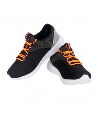 Orange Color Sports Yellow Tree Shoes