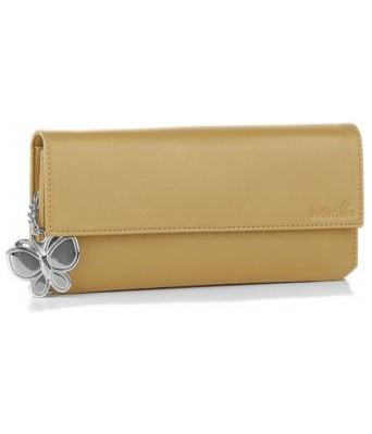 Butterflies Women's Wallet (Beige) (BNS 2110BG)