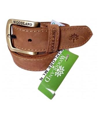 Wood Land Genius Leather Belt For Mens Size 32