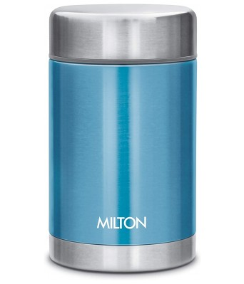 Milton Cruet 550 Thermosteel Soup Flask Hot and Cold, 515 ml, Blue
