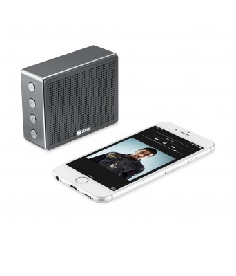 Zoook ZB-Rocker Chrome Bluetooth Speaker
