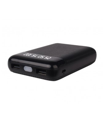 Zoook 10000 mAh Power Bank (ZP-PB10DB, Mobile Mate +)  (Black, Lithium-ion)