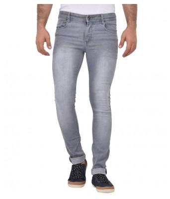 AFW Mens Grey Strechable Denim Jeans