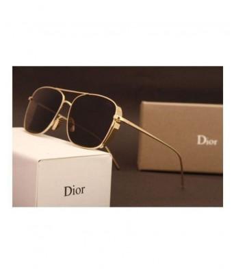 Crazy Dior Black Golden Frame Glares for Men