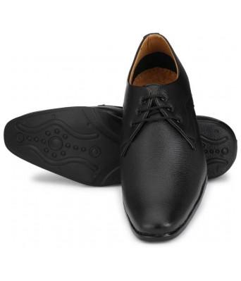 Formal 8513 Classic Derby For Men  (Black)