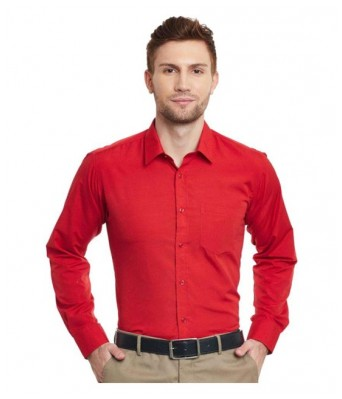 PIXO RED FORMAL SHIRT