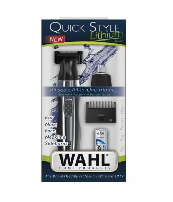 WAHL 5604-024 QUICK STYLE LITHIUM TRIMMER FOR MENS