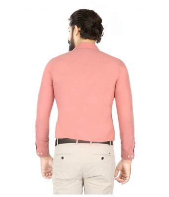 Lisova Pink Slim Fit shirt