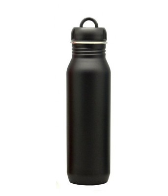 H2GO Omada Stainless Steel Drinking Bottle  BLACK