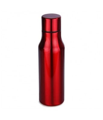H2GO- OMADA STAINLESS STEEL DRINKING BOTTLE RED   700 ML Stainless Steel